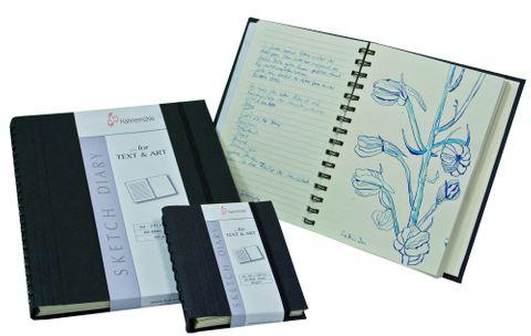 Hahnemuhle Sketch Book Black S