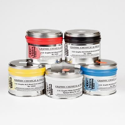 Graphic Water Based Ink Tin
