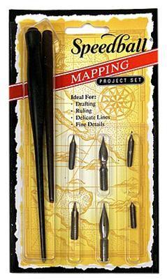 Speedball Mapping Pen Set