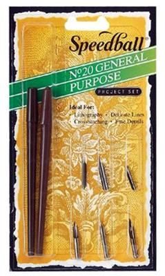 Speedball General Pen Set