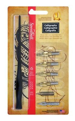 Speedball Calligraphy Pen Set