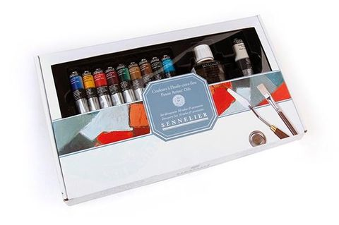 Sennelier Oil Colour Set of 10