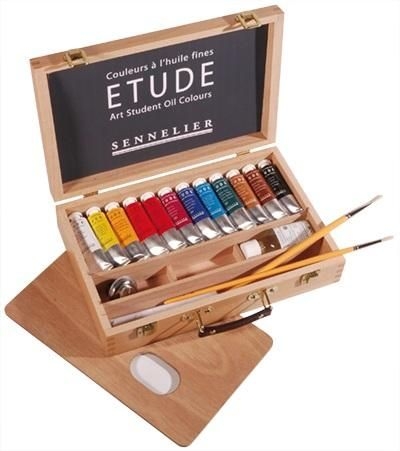 Etude Student Oil Paint Set