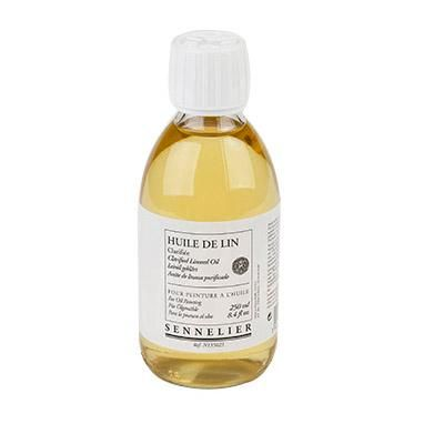Clarified Linseed Oil
