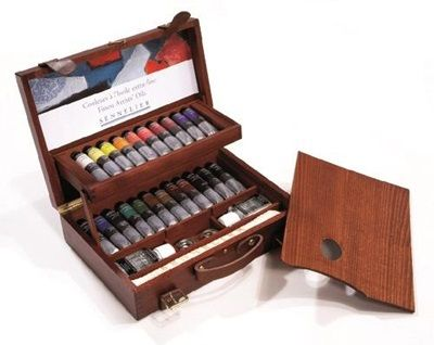 Artists' Oil Deluxe Wooden Set