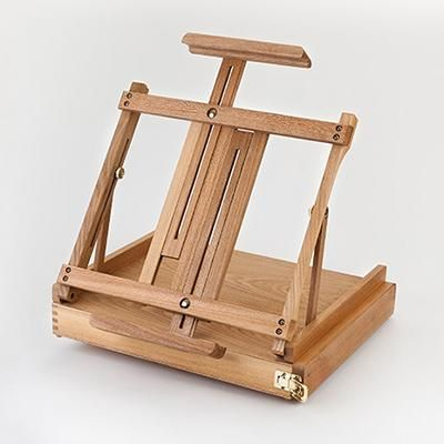 Tabletop Easel with Drawer
