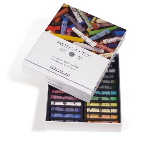 Soft Pastels Box of 24