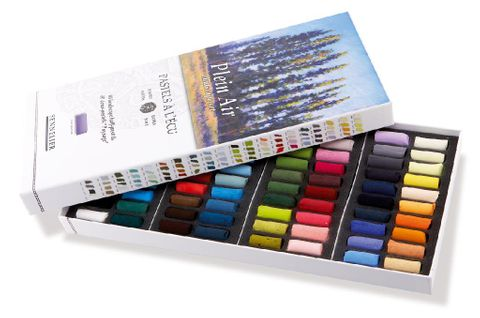 Half Pastels Box of 80
