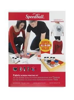Speedball Fabric Kit