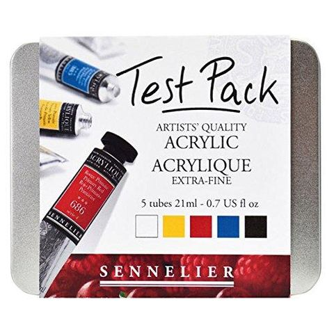 Sennelier Acrylic Test Pack