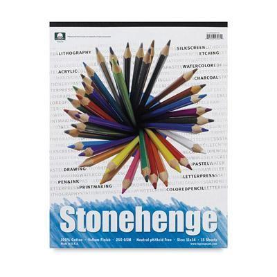 Stonehenge Drawing Paper Pad
