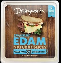 CHEESE SLICES ALL PURPOSE 500GM GKCC DAIRYWORKS