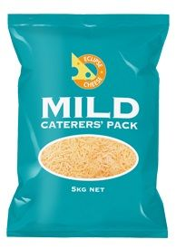 CHEESE MILD CATERERS GRATED 5KG ECLIPSE