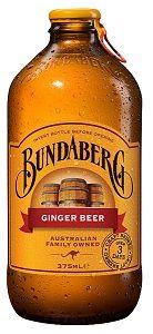 BUNDABERG GINGER BEER 375ML (24)