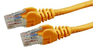 Dynamix 0.5M Cat 6 Orange UTP Patch