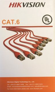 Hikvision CAT 6 Data Cable 305m Box - Orange