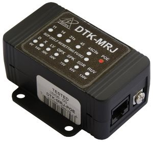 Ditek PoE Surge Protection with Gigabit Ethernet