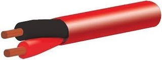 Tycab Fire Cable .75mm, RED, 200m Drum