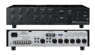 TOA 100V & 4ohm 240W Mixer Amplifier