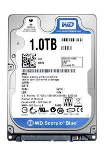 HDD 1TB 5400RPM SATA 2.5