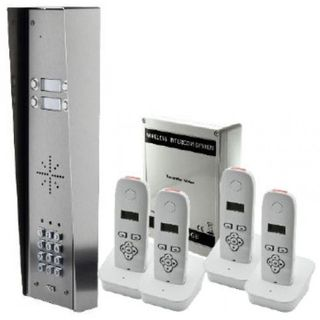 iCentral DECT Wireless Intercom & Keypad - 4 Button