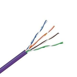 Tycab CAT 5E Data Cable 305m Box -Violet