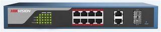 Hikvision L2 8*100M, 2*1000M Port POE Switch Web managed