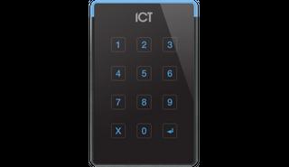 ICT Protege TSEC Bluetooth/NFC/13.56MHz/125kHz Reader Keypad Wall - Black