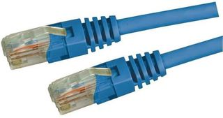 Dynamix 1M Cat5E Blue UTP Patch lead