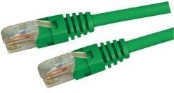Dynamix 0.3M Cat 5E Green UTP Patch