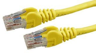 Dynamix 10M Cat 6 Yellow UTP Patch Lead