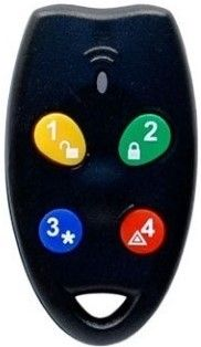 Ness RK4B 4 Button Radio Remote