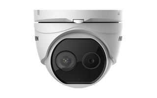 Hikvision Bi-Spectrum Thermal Turret - 2MP Opitcal and 3mm Thermal