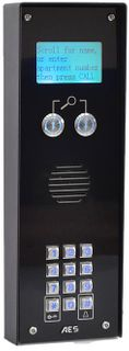 iCentral 4G Audio Intercom - Apartments in black