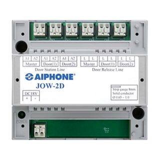 Aiphone JO Series two door video adaptor module