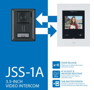 "Aiphone JS 3.5"" Audio Video Kit"