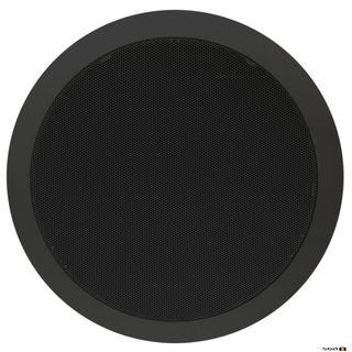 100v Ceiling Speaker 15w 20cm - Black