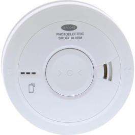 Brooks Photoelectric Smoke Alarm 230v, 10year battery backup