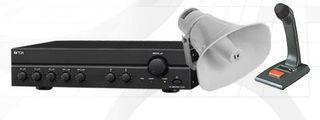 TOA kit - A2030D Amp, SC630M Speaker & PM660XLR Desk Mic