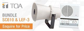 Aiphone LEF-3, LT-1,RY6818,PS1225 & TOA SC610 Horn Speaker