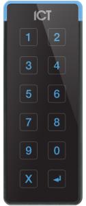 ICT Protege TSEC 13.56MHz / 125KHz Keypad - Black
