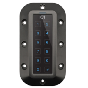 ICT Protege TSEC VRC BLE/13.56MHz/125kHz Reader Keypad Mullion Vandal Resistant