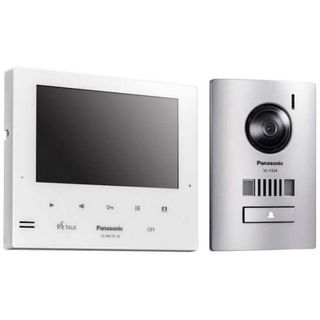 "Panasonic Slimline 7"" Home Video Intercom Kit (White)"
