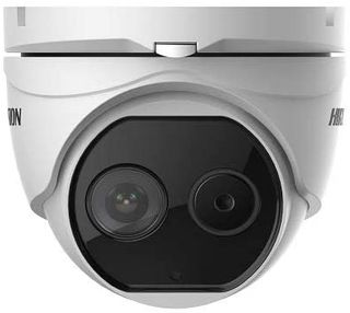 Hikvision Thermal & Optical Network Turret Camera