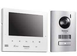 "Panasonic Expandabile intercom 7"" VL-MV74 Monitor and VL-V524 Door Station"