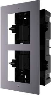 Hikvision IP Intercom  Gen2 Flush Mount Two Module Frame