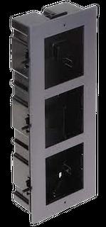 Hikvision IP Intercom  Gen2 Flush Mount 3 Module Frame