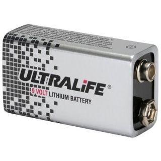 Ness Ultralife 9 Volt Lithium Battery