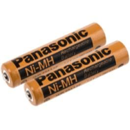 Panasonic AAA 2pk Rechargeable DECT Batteries