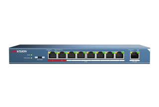 Hikvision L2 8 Port PoE Switch with Uplink